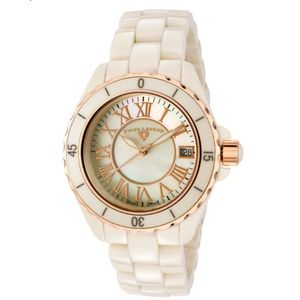Swiss Legend Karamica White Mother of Pearl Watch